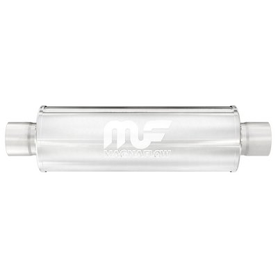 SATIN FINISH MUFFLER