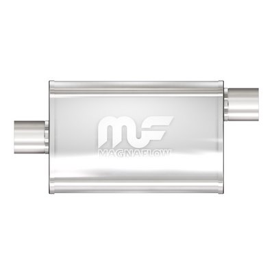 POLISHED FINISH MUFFLER