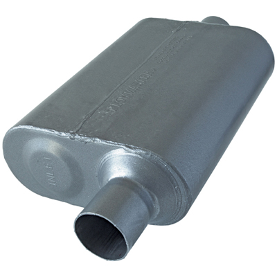 FLOWMASTER SUPER 44 SERIES DELTA FLOW MUFFLER STAINLESS STEEL