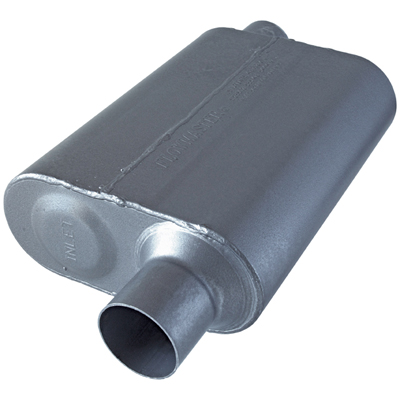 FLOWMASTER SUPER 44 SERIES DELTA FLOW MUFFLER STAINESS STEEL
