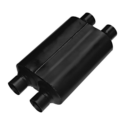 FLOWMASTER SUPER 40 SERIES DELTA FLOW MUFFLER STAINLESS STEEL