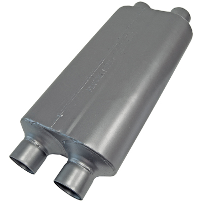 FLOWMASTER 50 SERIES HEAVY DUTY MUFFLER STAINLESS STEEL