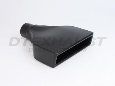 BLACK POWDER COATED 8.00 1 PC CAMARO TOOLING TIP ID 2.25
