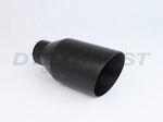 BLACK POWDER COATED 4.00 DOUBLE WALL CLOSED OUTER CASING ID 2.25