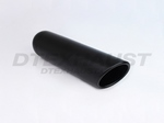 BLACK POWDER COATED 4.00 X 12.00 ROLLED SLANT ID 2.25