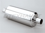DTM105 DIFFERENT TREND STAINLESS STEEL MUFFLERS