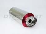 6.00 ROUND ADJUSTABLE SILENCER (RED)