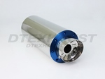 6.00 ROUND ADJUSTABLE SILENCER (BLUE)