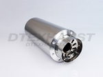 6.00 ROUND ADJUSTABLE SILENCER (SILVER)
