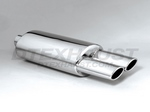 DTM138 DIFFERENT TREND STAINLESS STEEL MUFFLERS