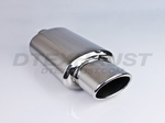 DTM151 DIFFERENT TREND STAINLESS STEEL MUFFLERS