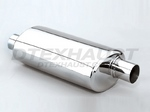 DTM25103FF DIFFERENT TREND STAINLESS STEEL MUFFLERS