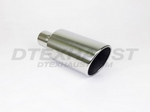5.00  X  12.00 ROLLED SLANT DIESEL EXHAUST TIPS ID 2.25
